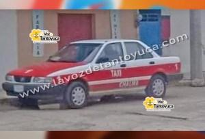 Denuncian el robo de un taxi en Chalma | LVDT