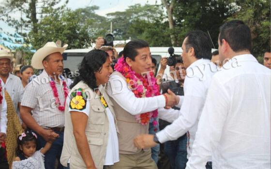 Visita Cuitláhuac García Chicontepec | LVDT