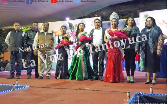 Corona David Guzmán a Ana Cristina I como Reina del Carnaval Ixcatepec 2020 | LVDT