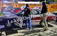 Taxista arrolla a hombre de la tercera edad, resultó lesionado
