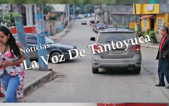 Percance vial deja solo daños materiales, en Tantoyuca   LVDT