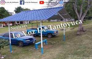 Vecinos ocupan parada como estacionamiento | LVDT