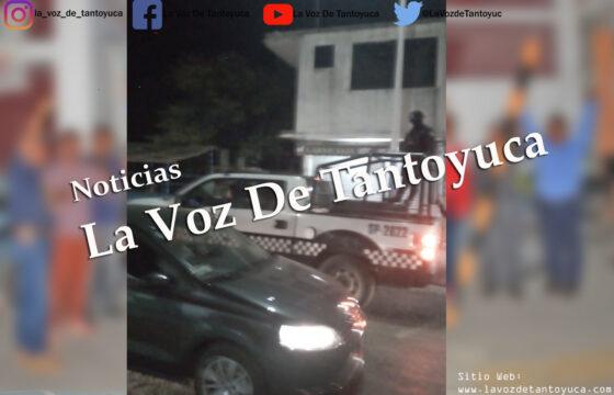 Gonzalo Vicencio y Guadalupe Argüelles amedrentan a manifestantes en Tantoyuca | LVDT