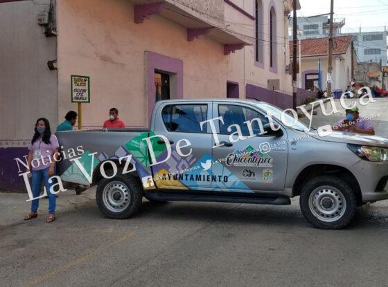 Continúan filtros sanitarios en Chicontepec | LVDT