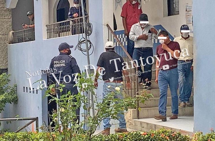 Con vehículo robado detienen a seis sujetos en Tempoal | LVDT