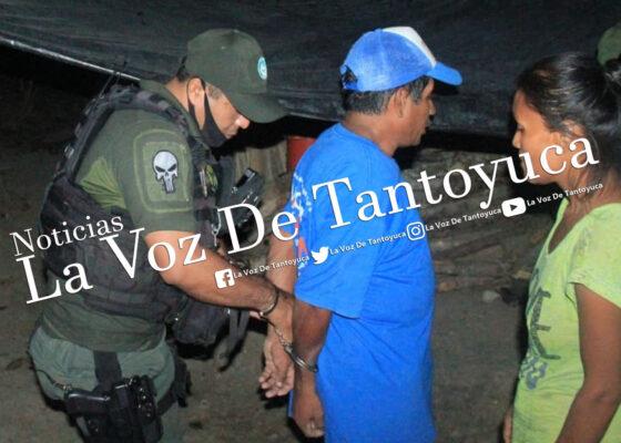 Detienen a sujeto por agredir a joven mujer, en Tantoyuca   LVDT