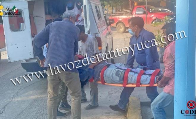 Joven se lesiona tras caer en construcción | LVDT