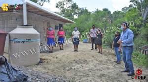 Entregan colectores domiciliarios en Tecomate   LVDT