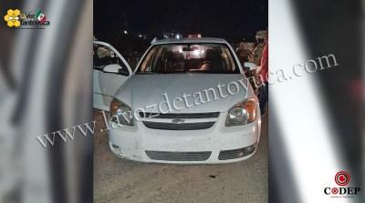 Aseguran vehículo sin documentación a brujo, en Tantoyuca   LVDT
