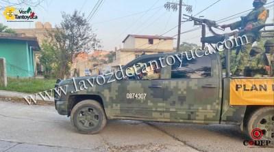 Reporte de gente armada en Tantoyuca moviliza a elementos policiacos | LVDT