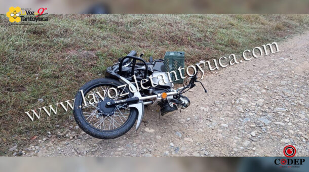 Localizan motocicleta abandona en Tantoyuca | LVDT