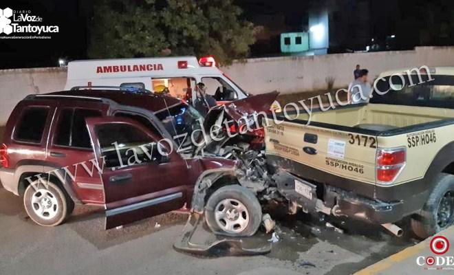 Borrachera deja una persona lesionada y 4 vehículos dañados   LVDT