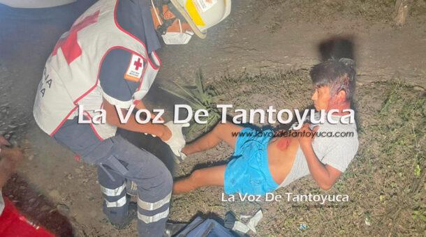 Hieren con arma blanca a joven, en Tantoyuca | LVDT