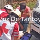 Acelerado motociclista provoca percance vial; un lesionado | LVDT
