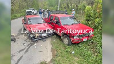 Aparatoso accidente deja cuantiosos daños materiales | LVDT