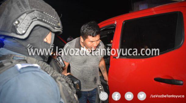 Detiene Policía Municipal a ebrio transportista