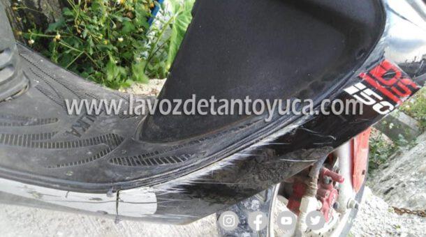 Joven resulta herido tras ser atropellado por el hermano del alcalde electo en Chicontepec