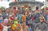 Dio inicio esta tarde el Carnaval en Ixcatepec