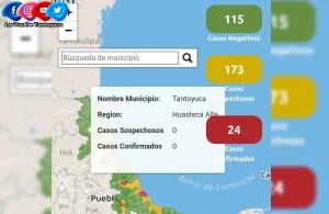 Dan negativos dos casos sospechosos de Coronavirus en Tantoyuca | Secretaria de Salud