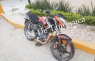 Motociclista resulta lesionado en accidente vial, en Tantoyuca