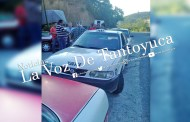 Retienen otro taxi de Hidalgo en Veracruz