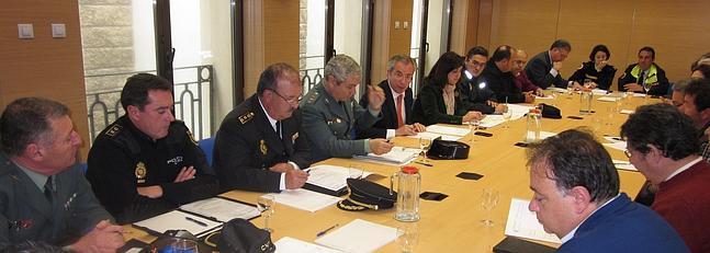 Subdelegación y Ayuntamiento perfilan el dispositivo de seguridad de 'San José 2013'