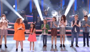 Los semifinalistas del equipo de Melendi en el Asalto Final de La Voz Kids