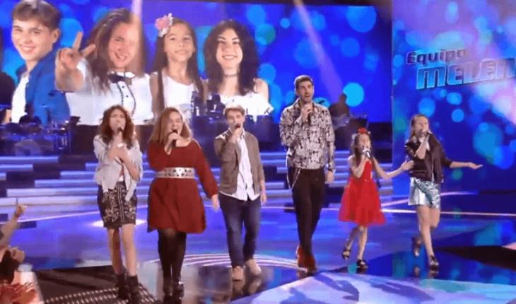 Finalistas del Equipo Melendi en La Voz Kids 4 España