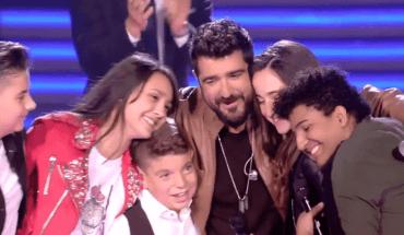 Finalistas del Equipo Orozco en La Voz Kids 4 España