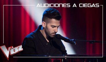 Aitor Martín arrasa con Dark Times en las audiciones a ciegas de La Voz