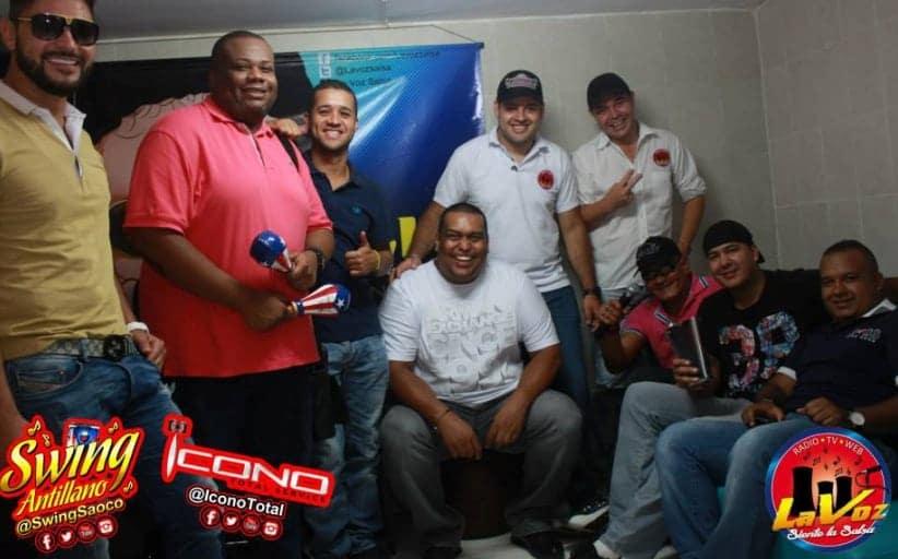 """ENCUENTRO DE DJS EN LA VOZ """"UNA COSA DE LOCOS"""""""
