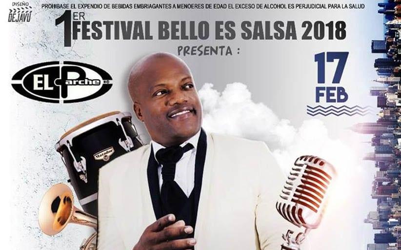 """1er FESTIVAL BELLO ES SALSA CON JIMMY SAA """"EL EMBAJADOR DEL PACÍFICO"""""""