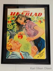 norsk ukeblad pike med eple