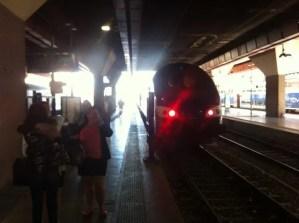 Nuestro tren a Marsella