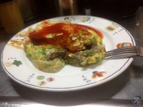 La tortilla de ostras
