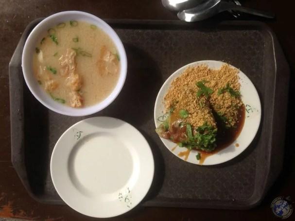 Primera parada: sopa de miso y otra delicia