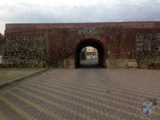 Una de las puertas de la muralla
