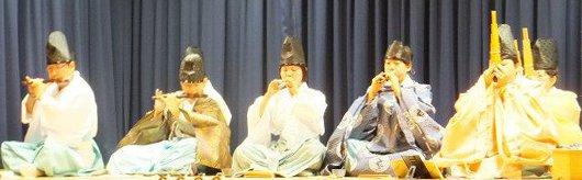 牛田早稲田神社雅楽巴会