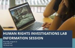 Human Rights Investigations Lab  Berkeley Law