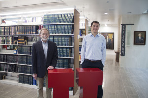 Professor Randy Dryer is using a tool developed by University of Utah alumnus Kimball Parker called CO/COUNSEL as a innovative learning experience for his students, who are participating in a project to map the law in an effort to provide better public legal resources to the community. Photo by Sarah May.
