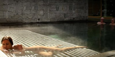 Michaek Caine and Harbey Keitel in Paolo Sorrentino's Youth