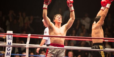 Miles Teller as Vinny Pazienza in Bleed For This