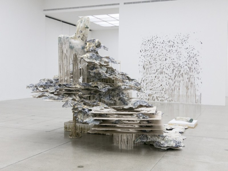 Diana Al-Hadid at David Winton Bell Gallery