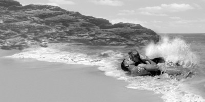 Burt Lancaster and Deborah Kerr in From Here To Eternity