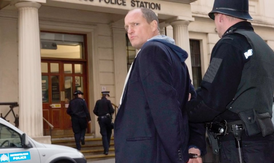 Woody Harrelson, Lost In London