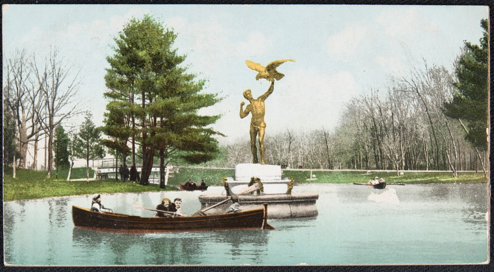 The Dyer Memorial, Roger Williams Park, Providence, R.I.