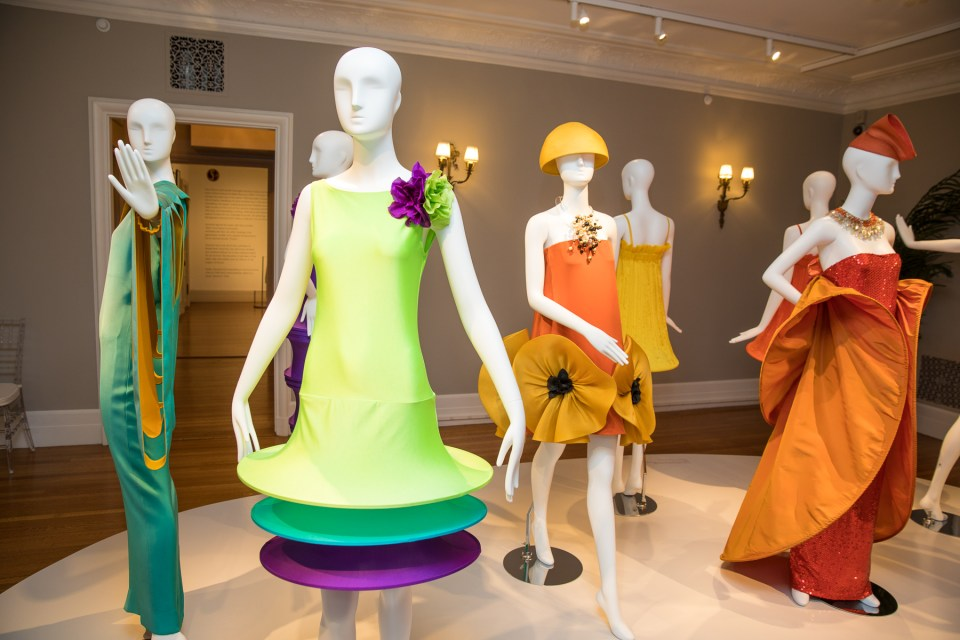 Pierre Cardin at Rosecliff