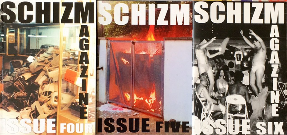 Schizm Magazine at Periphery Space