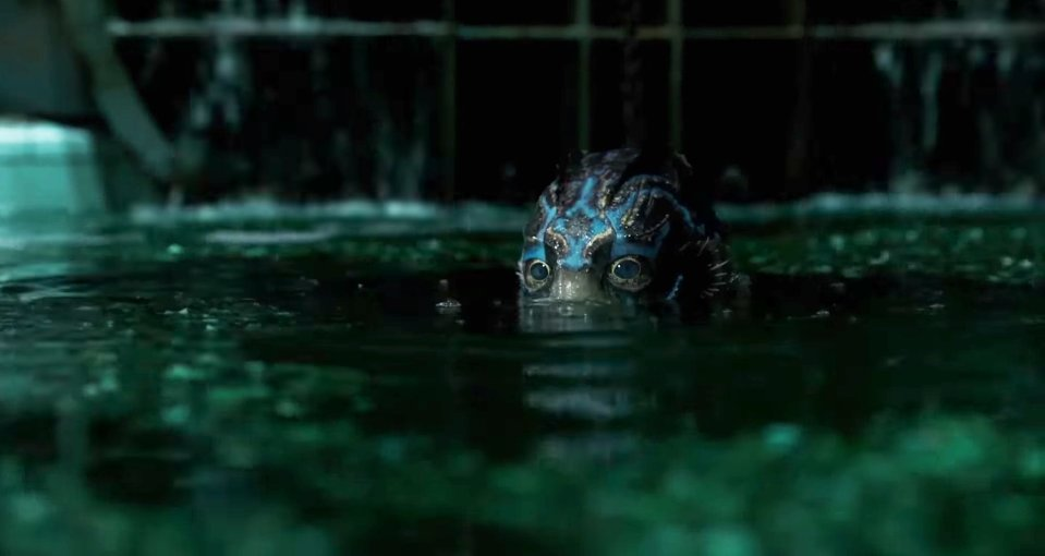 the shape of water guillermo del toro 2017