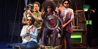 trinity rep black odyssey (photo: Mark Turek)